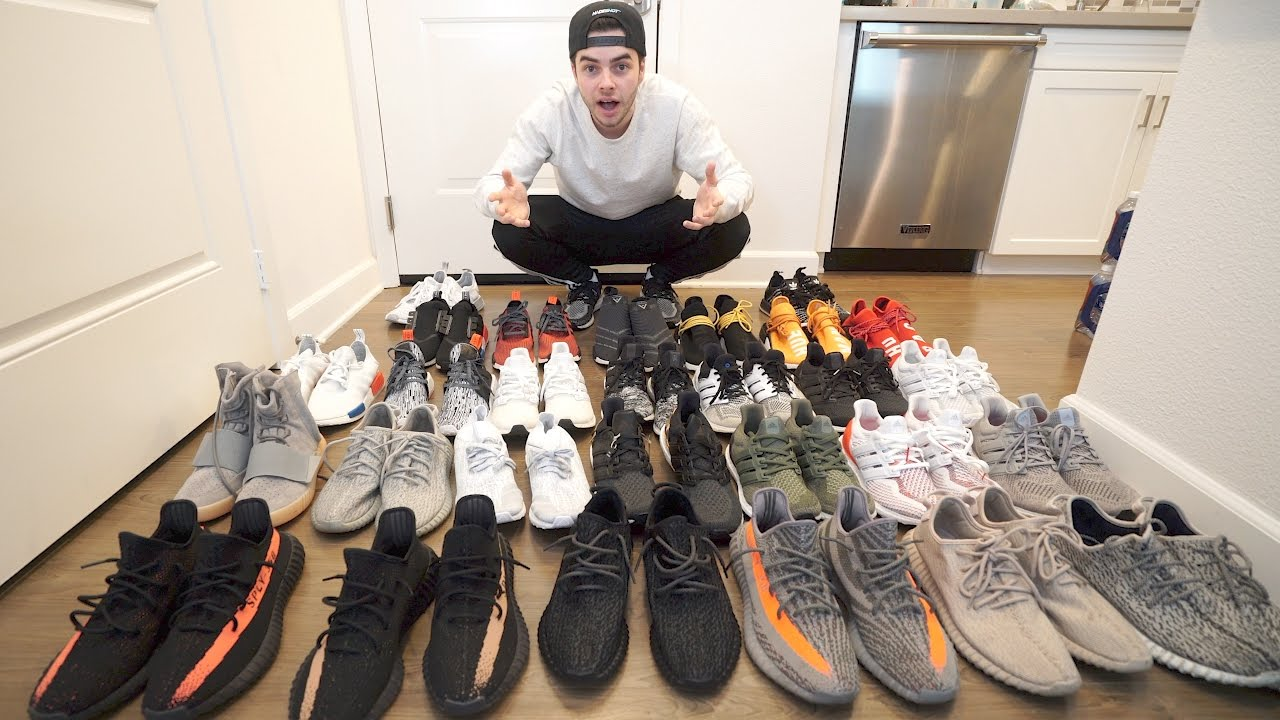 My 2016 Sneaker Collection Youtube
