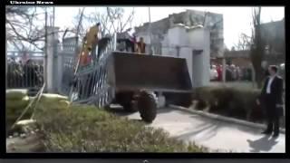 Штурм Украинской Военной части в Крыму