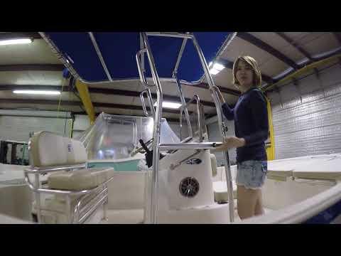 Fishmaster Top Carolina Skiff Pasadena Boat Works T Top Installed For $1299!
