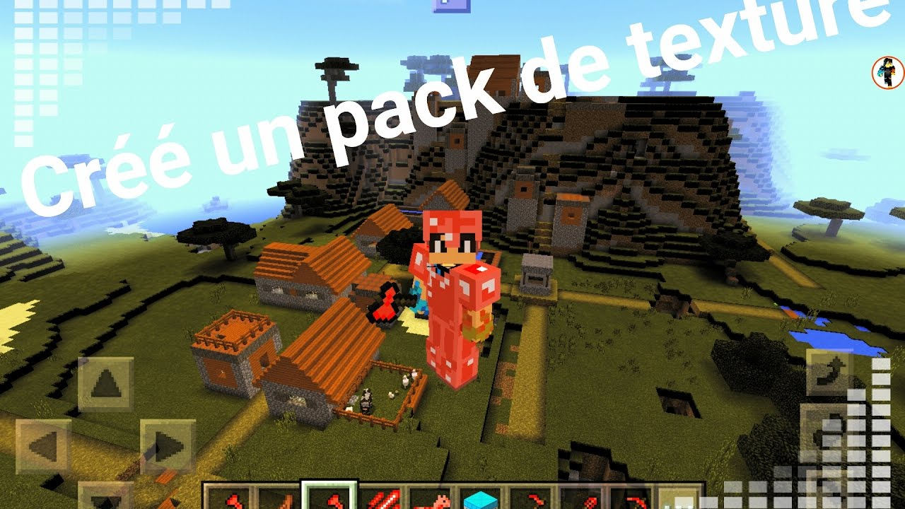 Comment Creer Son Propre Texture Pack Minecraft Pe Youtube