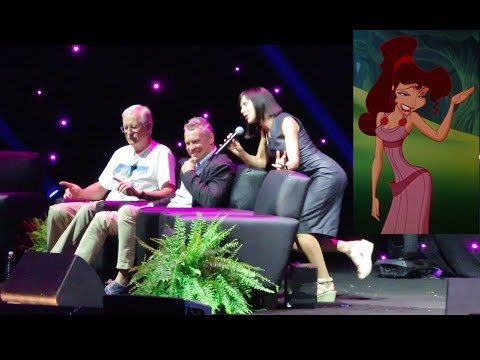 Susan Egan sings I Wont Say Im in Love from Hercules at D23 Expo 2017