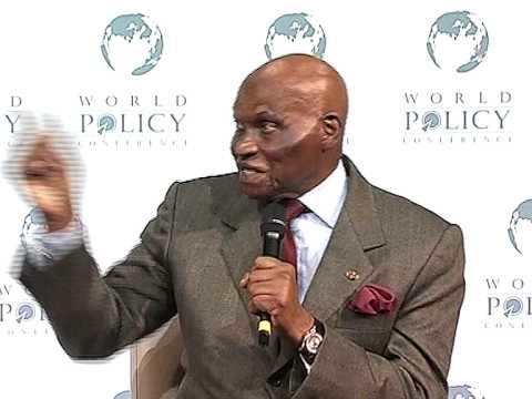 Abdoulaye Wade - Plenary Session Part 3