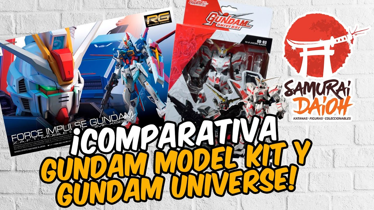 GUNDAM MODEL KIT Y GUNDAM UNIVERSE / REVIEW