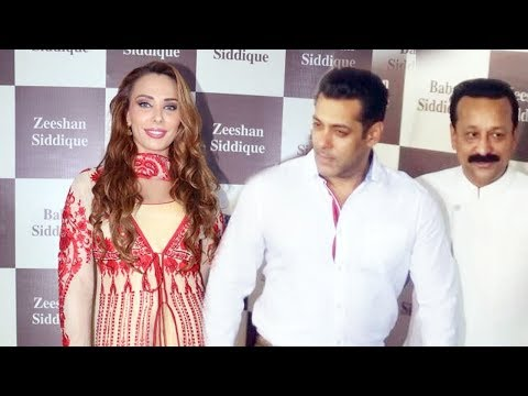 Thumbnail: Salman Khan And Lulia Vantur At Baba Siddiqui Iftar Party 2017