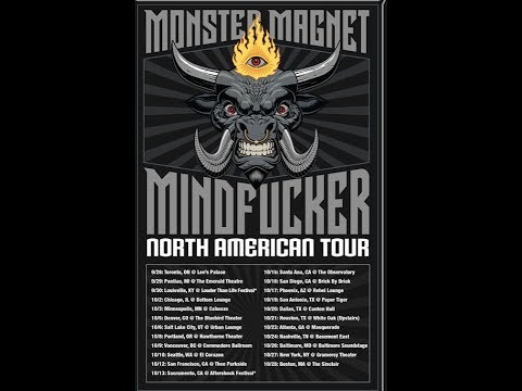 Monster Magnet North American tour with Electric Citizen and Dark Sky Choir..!