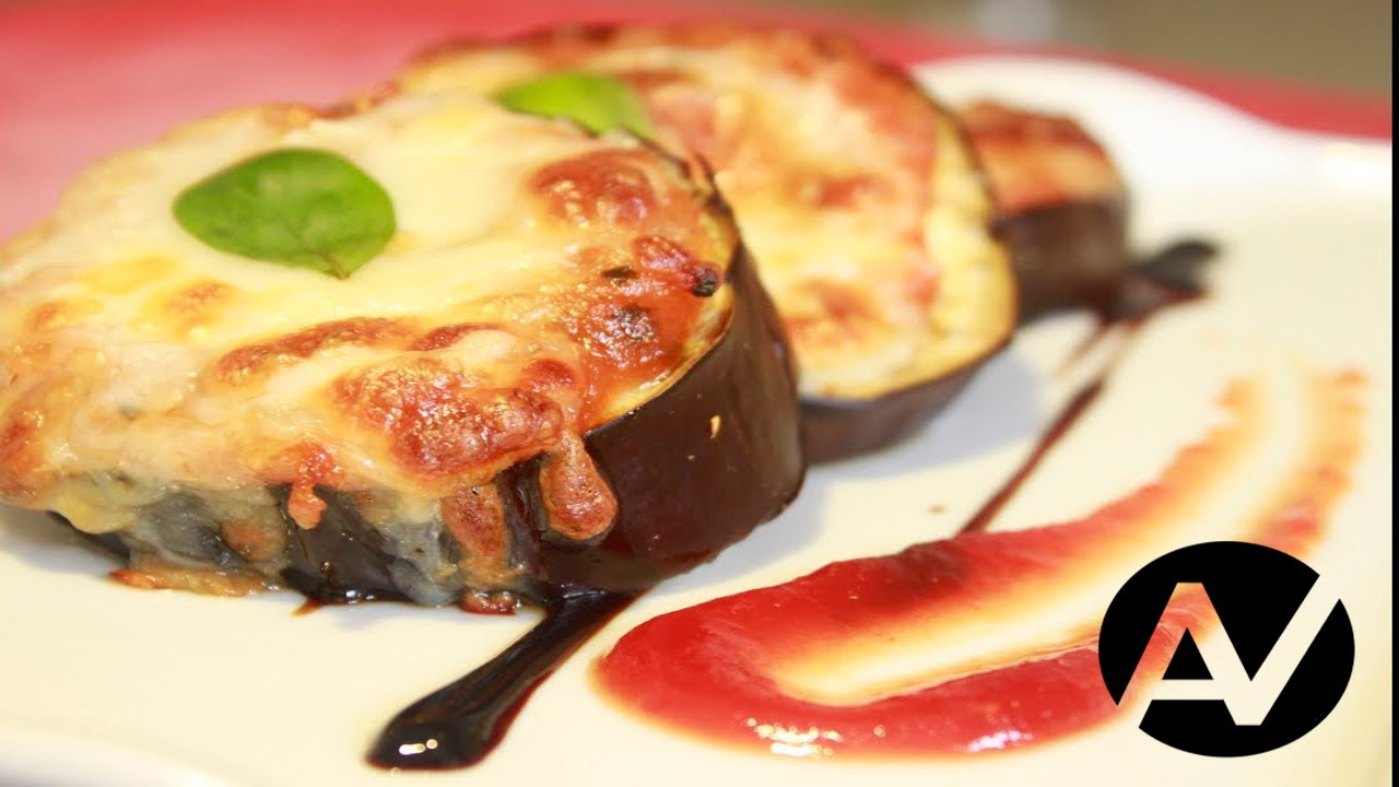 Berenjenas con tomate y mozzarella youtube - Berenjenas con mozzarella ...