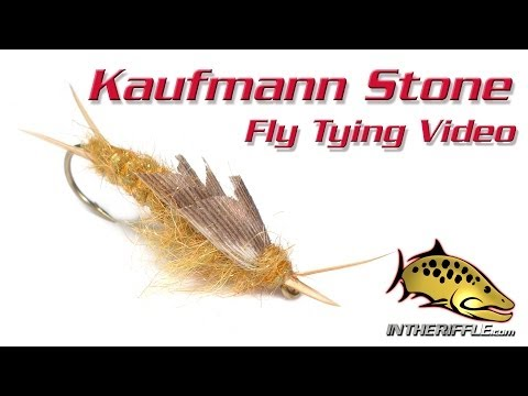 Kaufmann Stone Stonefly Nymph Fly Tying Video Instructions