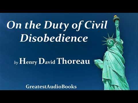 ON THE DUTY OF CIVIL DISOBEDIENCE by Henry David Thoreau - FULL AudioBook   GreatestAudioBooks V2