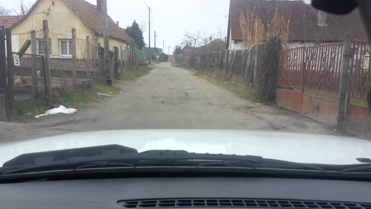 ráckeve pokolhegy térkép Ráckeve Haladás utca (pokolhegy) v2   YouTube