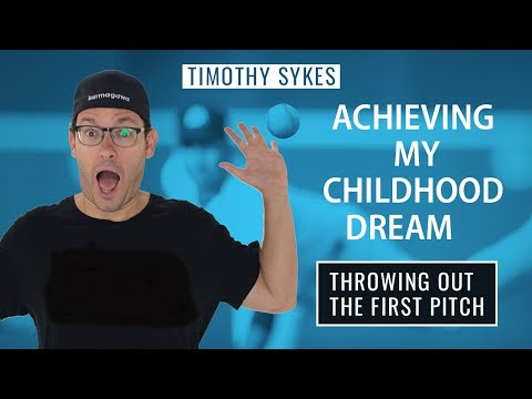 Achieving My Childhood Dream: Throwing Out The First Pitch