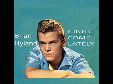 Brian Hyland  'GINNY COME LATELY'  Albert West cover     R C Alas