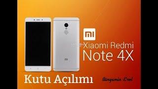 Xiaomi Redmi Note 4x 64GB Kutu Açılımı ve İnceleme