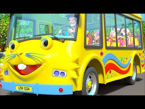 Wheels On The Bus   More Nursery Rhymes & Kids Songs by Little Treehouse