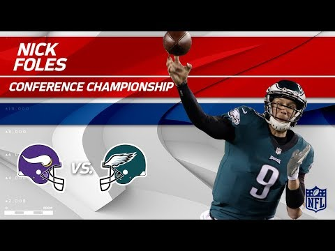 Nick Foles Leads Philly to the nick foles
