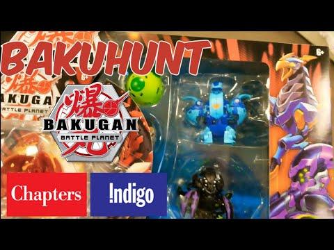 BAKUHUNT! WAVE 4/5 IN CANADA?! Bakugan Battle Planet Toy Hunting @Chapters Indigo