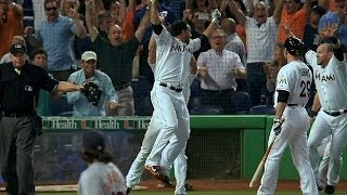 Alvarez finishes no-no, Marlins walk-off