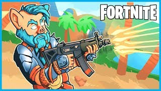 HOW GOOD IS THE *NEW* SMG in Fortnite: Battle Royale?!? (Fortnite Sub Machine Gun Solos Gameplay)