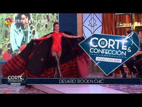 """Corte y confección - Programa 15/07/19 - Desafío """"Rock'n Chic"""""""