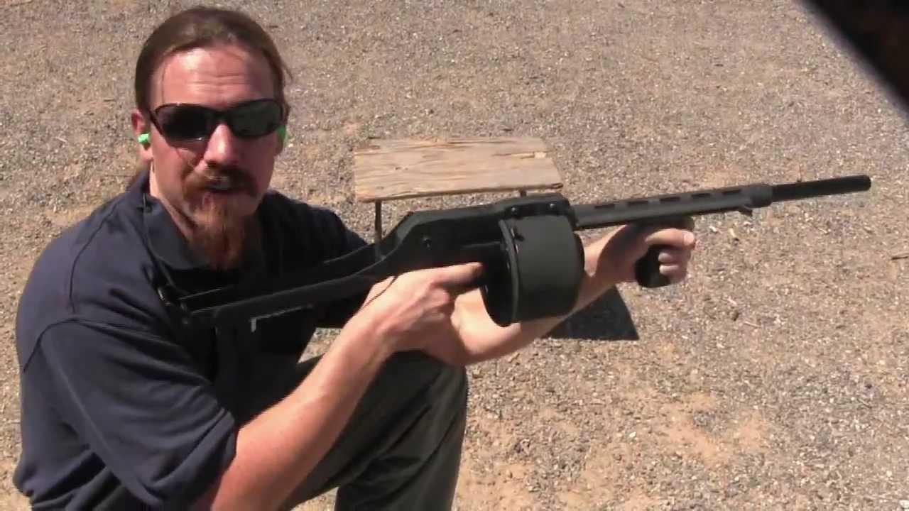 Streetsweeper Shotgun Youtube