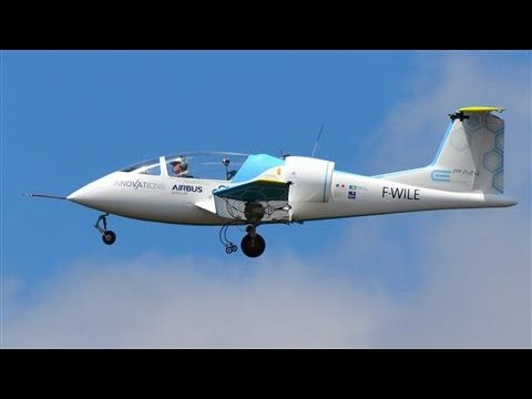 First electric plane crosses English Channel. Airborne for 37 minutes.