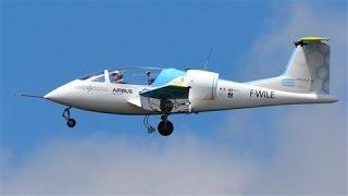 بالفيديو .. أول طائرة كهربائية لشركة إيرباص تعبر القناة الإنجليزية