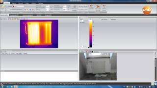 Создание отчёта тепловизионного обследования с программным обеспечением testo IRSoft