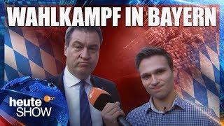 Fabian Köster im Wahlkampf in Bayern