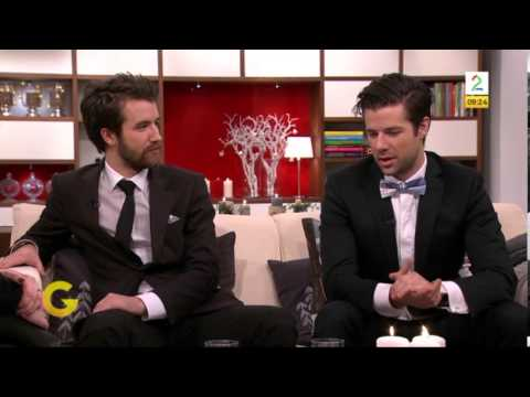 """Didrik and Emil Solli-Tangen - Interview on """"God morgen Norge"""" 27.12.2013"""