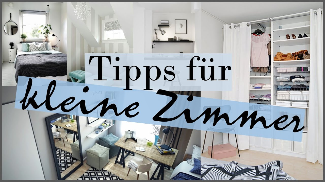 kleine zimmer sch n machen tipps tricks hilfen ideen. Black Bedroom Furniture Sets. Home Design Ideas