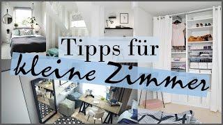 kleines schlafzimmer optimal einrichten - 8 ideen vorgestellt ... - Schrankideen Fur Kleine Schlafzimmer