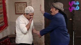 شوفو العكيد شو عمل مع الشغيل اللي لقطو عم يحكي مع بنت معلمو - عطر الشام