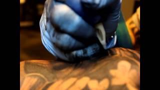 Hannya Mask Tattoo by Pit Fun Fun