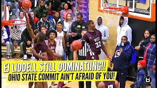 The Defender You Don't Want to Be Around! Ohio State Commit Ej Liddell vs Top Junior Caleb Love!