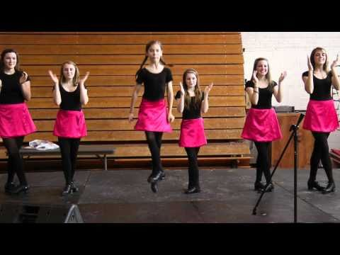 The Nashville Irish Step Dancers perform their