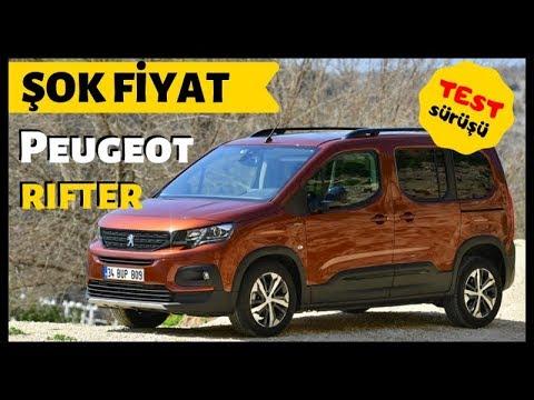 Peugeot Rifter'ın Türkiye Fiyatı - Yeni Ticari Aracı Test Ettik ve Rifter 'ı İnceledik