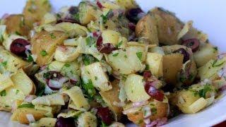 Clean Eating Italian-style (mayo-free) Potato Salad