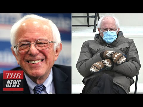 Bernie Sanders Had the Best Reaction to Becoming a Viral Meme | THR News - The Hollywood Reporter