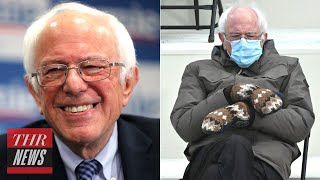 Bernie Sanders Had The Best Reaction To Becoming A Viral Meme Thr News Youtube