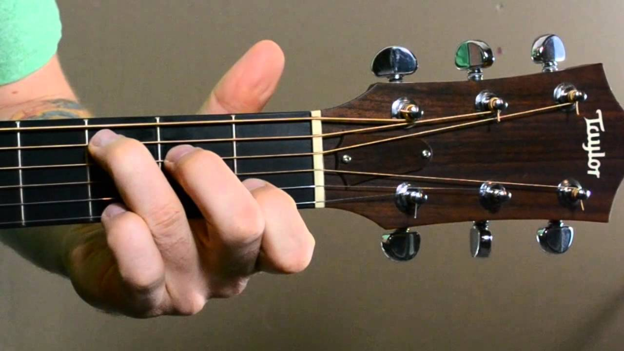 Guitar Chord Transitions G Cadd9 Em7 Dsus4 Youtube