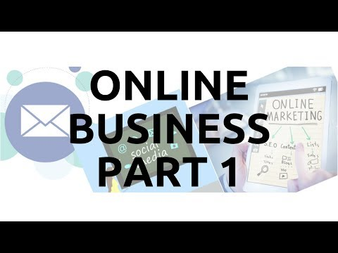How To Create An Online Business   Part 1