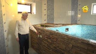 видео Бассейн своими руками в бане или сауне. Виды бассейнов и их особенности