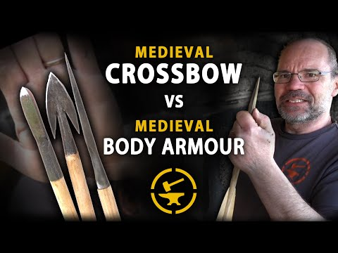 Medieval Crossbow vs Flexible Armours