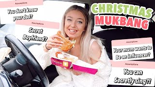 MCDONALD'S CHRISTMAS MENU MUKBANG! My Favourite Burger's Back Bby