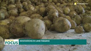 Kazakh agrarians are using innovative technologies to produce higher yields