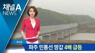남북 화해무드에 파주·민통선 땅값 30% '껑충' thumbnail