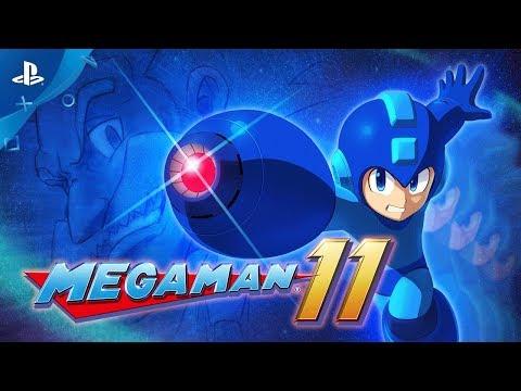 Mega Man 11 - Announce Trailer   PS4