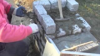 Building A Stone Pillar