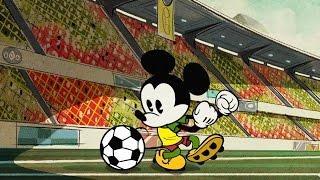 Mickey Mouse | O Futebol Clássico | Disney NL
