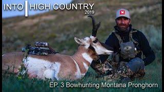 Bowhunting Montana Pronghorn