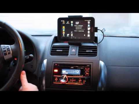 JVC r900bt Bluetooth Car Stereo Setup With Tablet